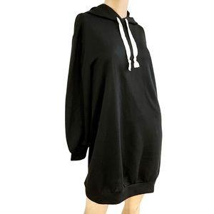 Anthropology SaturdaySunday black sweater dress-xs